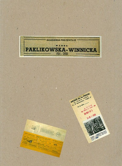 Grafika produktu: Wanda Paklikowska-Winnicka 1911–2001 (only in Polish)
