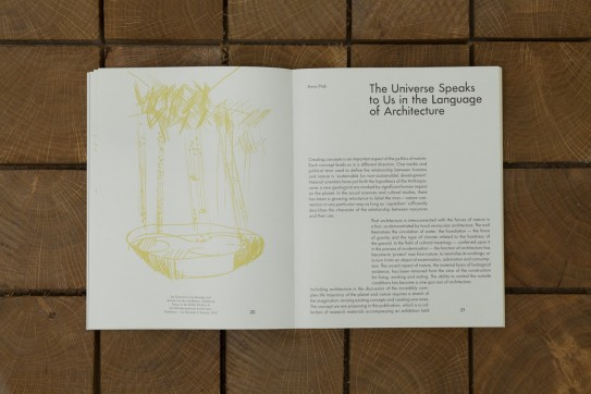 Grafika produktu: Amplifying Nature. The Planetary Imagination of Architecture in the Anthropocene