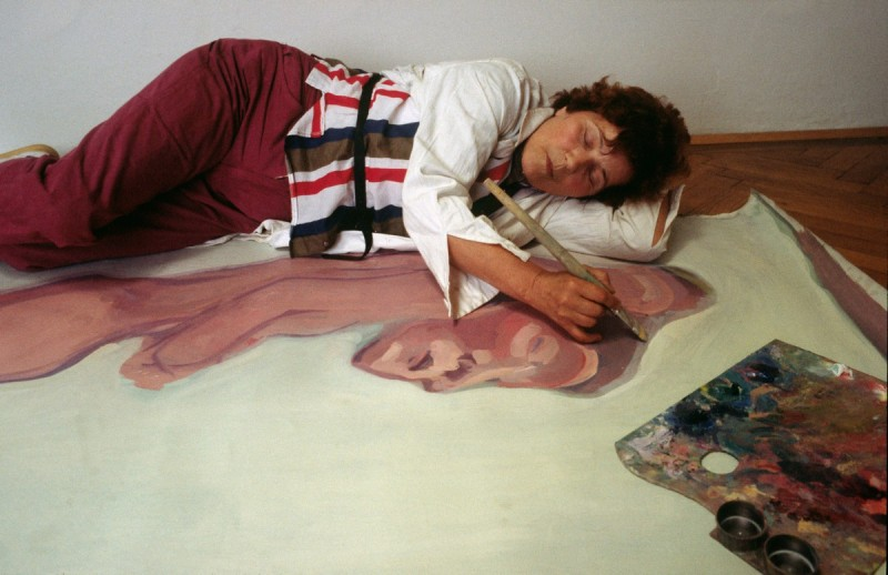 Becoming female in history. Maria Lassnig and the artists