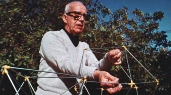 Grafika wydarzenia: The World of Buckminster Fuller. Film screening