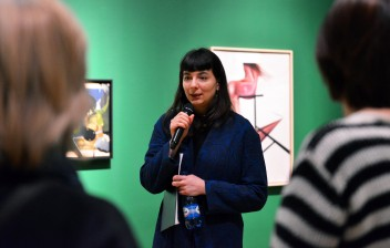 "Grafika wydarzenia: Final guided tour through the exhibitions ""Wild at Heart"" (in Polish)"