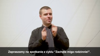 Grafika wydarzenia: Zachęta Signs! Family workshops (in Polish Sign Language)