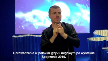 Grafika wydarzenia: Zachęta Signs!  (in Polish Sign Language)