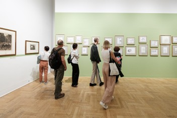 Grafika wydarzenia: Looking / Seeing. Contemporary art and the seniors (in Polish)