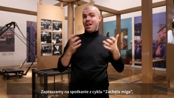 Grafika wydarzenia: Zachęta Signs!  Guided tour in Polish Sign Language