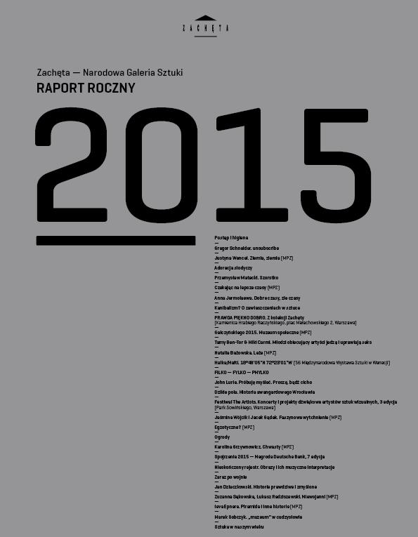 Raport Roczny