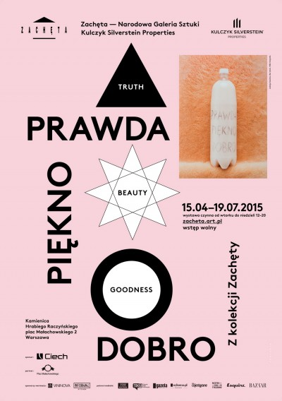 Grafika obiektu: TRUTH BEAUTY GOODNESS. From the Zachęta Collection
