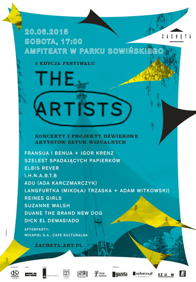 Grafika obiektu: Festival THE ARTISTS. 3rd edition