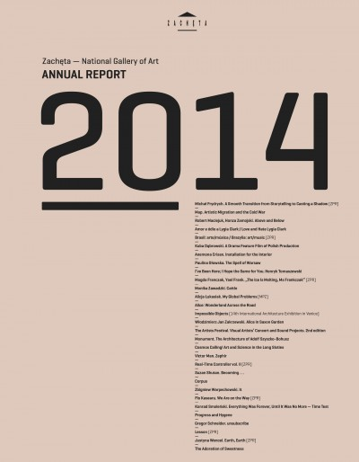 Grafika obiektu: Annual report 2014