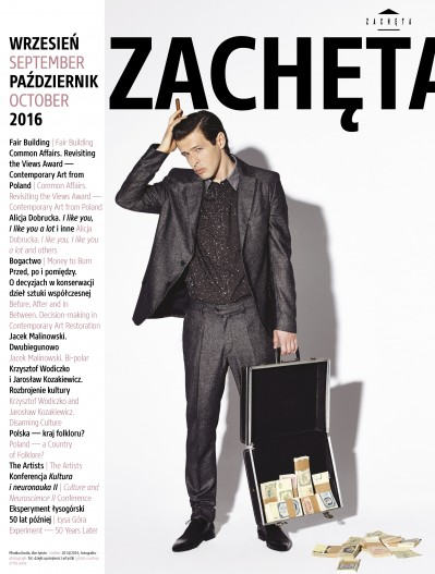 Grafika obiektu: Zachęta. September, October 2016