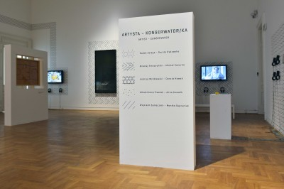 Grafika obiektu: Before, After and in Between. Decision-making in Contemporary Art Restoration