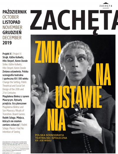 Grafika obiektu: Zachęta. October, November, December 2019