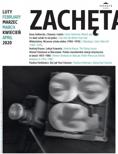 Grafika obiektu: Zachęta. February, March, April 2020