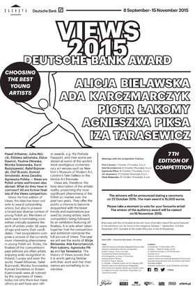 Grafika obiektu: VIEWS 2015 - Deutsche Bank  Award