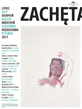 Grafika obiektu: Zachęta. July, August, September, October 2017