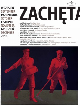 Grafika obiektu: Zachęta. September, October, November, December 2018