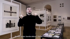 Grafika obiektu: Exhibition guide (Polish Sign Language)