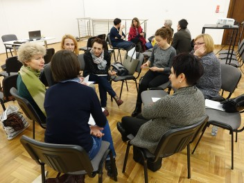 Workshop for teachers from Warsaw