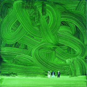 Zdjęcie pracy Forest, 2002, oil on canvas, 45x45 cm, courtesy the artist and Hauser & Wirth Zurich/London, photo A. Burger