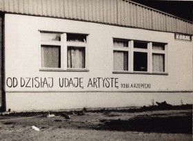 Zdjęcie pracy From Now on I Pretend to be an Artist (9.9.81)