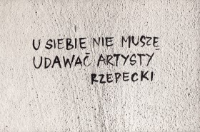 Zdjęcie pracy At Home, I Don't Have to Pretend to be an Artist